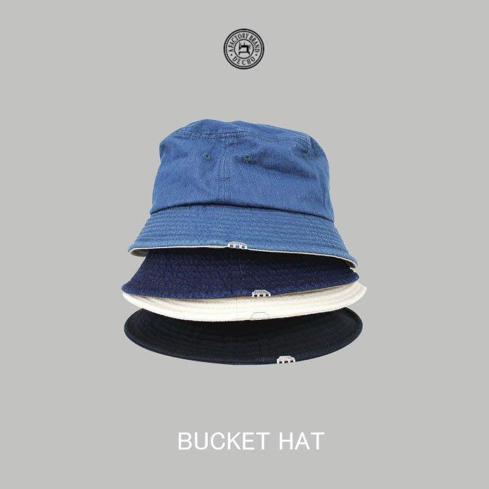 WaShiDa【d-05】DECHO 日本品牌 日本製BUCKET HAT 寬帽沿 漁夫帽 遮陽帽 帆布 - 預訂