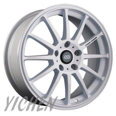 《大台北》億成汽車鋁圈量販中心-ENKEI 鋁圈 SC23 白色