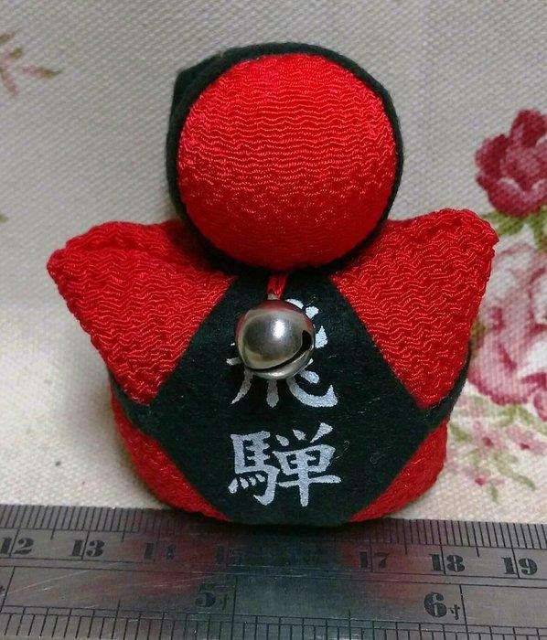 龍廬-自藏出清~高山娃娃/日本北陸飛驒娃娃沙包/猿猴寶寶擺設-紅色玩偶飾品 /只有1個/可自用送人