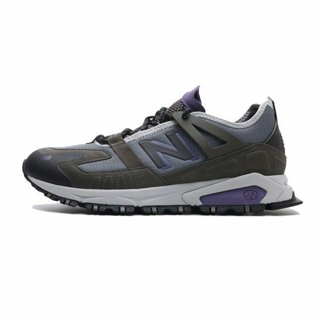 ➕ sneakersplus ➕NEW BALANCE X-Racer 休閒 運動鞋  鐵灰 紫色 MSXRCTCB