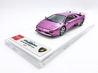 【秉田屋】現貨 Make Up Eidolon Lamborghini 藍寶堅尼 Diablo SE30 紫 1/43