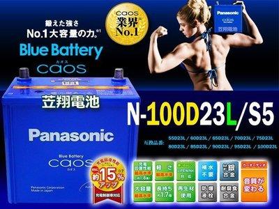 ☎ 挺苙電池 ►日本國際牌汽車電瓶(100D23L)75D23L 55D23L PREVIA INNOVA CX-7電瓶