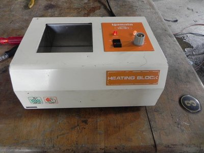 Yamato heating block HL-21 恆溫器 試管加熱器