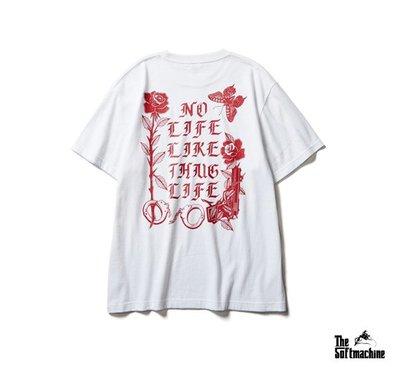 GOODFORIT / 日本Softmachine SHAKUR T-Shirt吐派克標語紀念短袖上衣/兩色