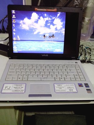 SONY 小筆電 PCG-7KDP 可開機