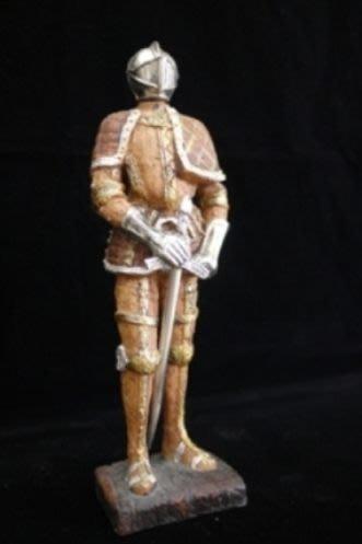 復古歐式鐵甲武士 小戰士 小兵 桌上飾品 生日禮物 收藏擺飾[布拉格家居]