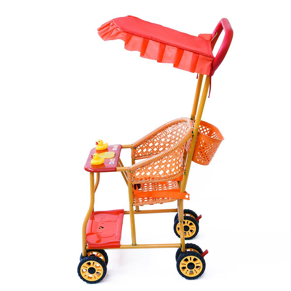 涼快娃娃四季5個月幼兒八輪超輕嬰兒推車夏季仿藤寶寶夏款6個月旅