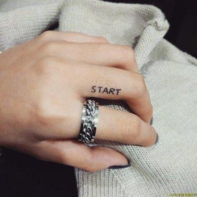 「lu.lu衣鋪」 黑度 / ROTATING CHAIN 泰式轉動旋轉中性鏈條紋理情侶男女對戒指F4D56