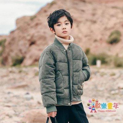 童裝男童冬季棉衣外套新款兒童短款棉服中大童加厚韓版棉襖潮