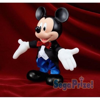 SEGA 景品 迪士尼 米老鼠 米奇 公仔 西裝 燕尾服 高約22公分 日版