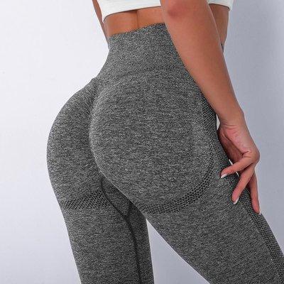 Dk韓國泳裝~高腰提臀無縫針織健身褲女 High waist gym pants Jogging Yoga