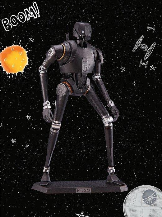 ◎MARS火星人◎星際大戰- K-2SO (拼酷彩色大碼) ◎3D立體金屬拼圖-金屬模型-蝕刻片
