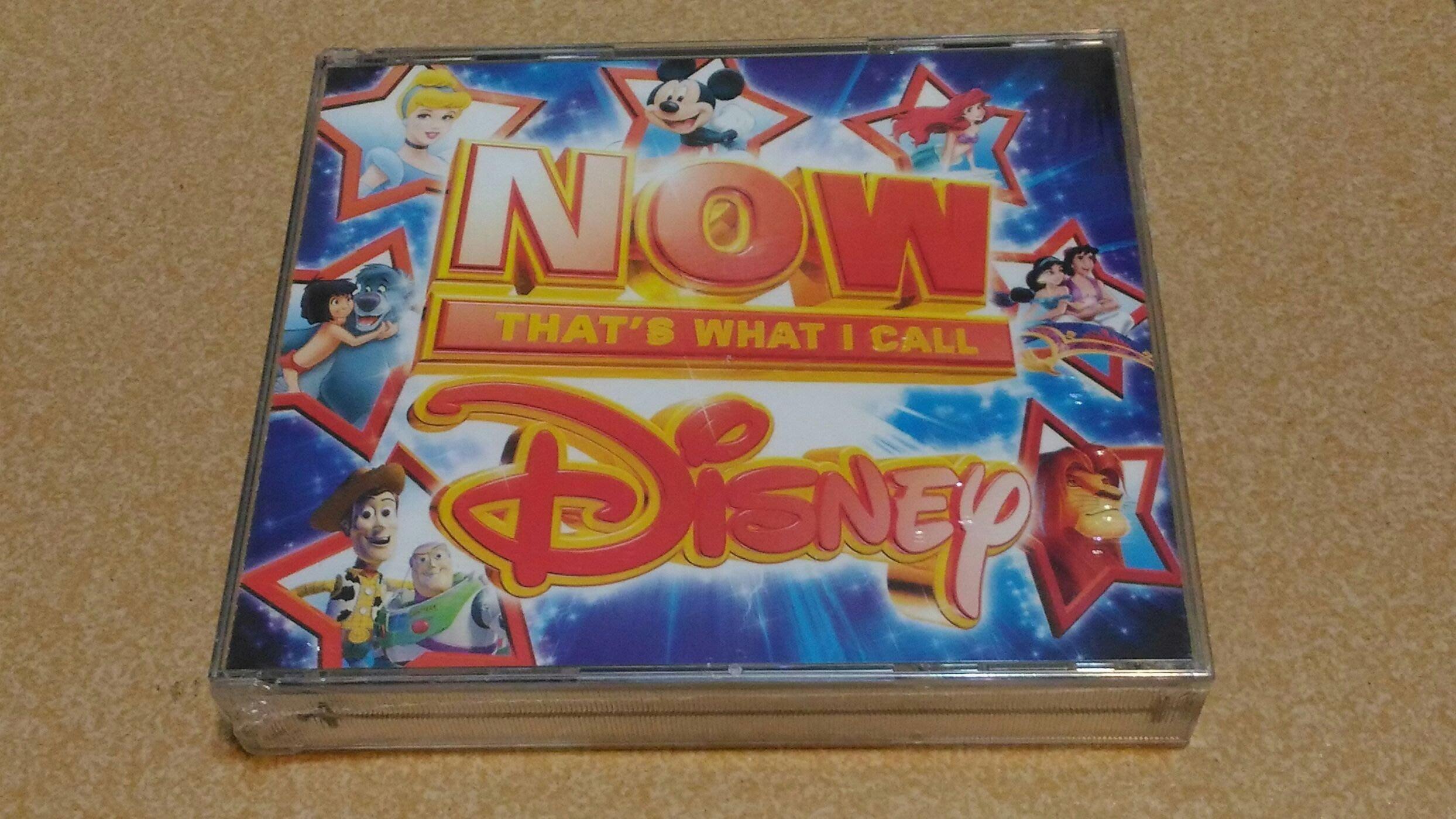 正版全新3CD~迪士尼電影原聲歌曲67首精選Now thats what I call Disney