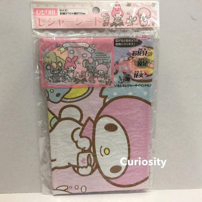 【Curiosity】日本Sanrio三麗鷗Melody防水野餐墊(57x87)沙灘墊海灘墊露營墊地墊$120↘$99