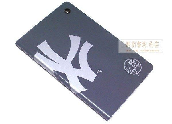 王建民.紐約洋基隊.Card Album鋁製金屬卡套b款-深灰色.美國職棒大聯盟《銀玥書坊》棒球MLB.情人耶誕日禮物