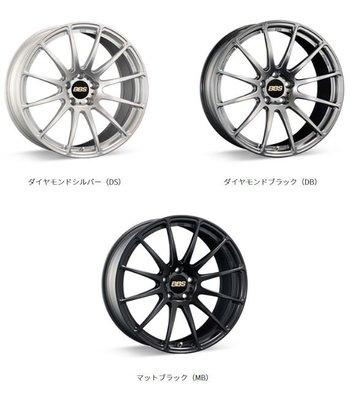DJD19071814 日本BBS FS 19吋鍛造鋁圈 依當月報價為準