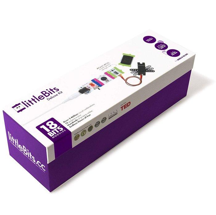 littleBits Electronics Deluxe Kit 18塊模組 全新 現貨 含稅