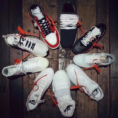 OFF WHITE X Nike Air Force 1 AF1 97 air max 鞋帶扣 防盜扣 鞋扣