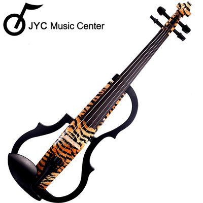 JYC Music 高階SV-150虎背紋靜音提琴(雙輸出/三段EQ) 限量!!