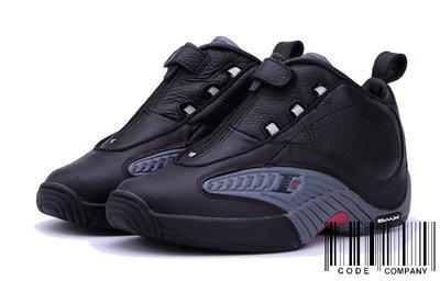 =CodE= REEBOK ANSWER IV STEPOVER 皮革籃球鞋(黑灰)V44961 IVERSON 男預購