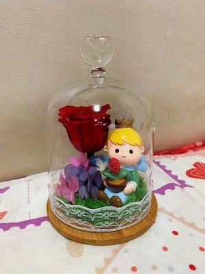 小王子保鮮花 永生花 玫瑰花 真花