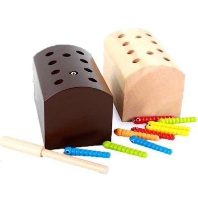 現貨/兒童桌面磁性抓蟲游戲寶寶早教益智木制親子互動手眼協調玩具3歲/海淘吧F56LO 促銷價