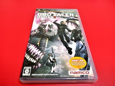㊣大和魂電玩㊣ PSP 噬神者 噬神戰士 神機解放 {日版}編號:N1-2---掌上型懷舊遊戲