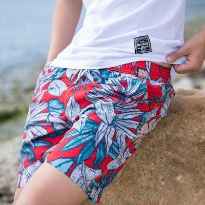 現貨/海邊度假沙灘褲男士速幹短褲寬鬆大碼大褲衩溫泉泳褲海邊/海淘吧F56LO 促銷價