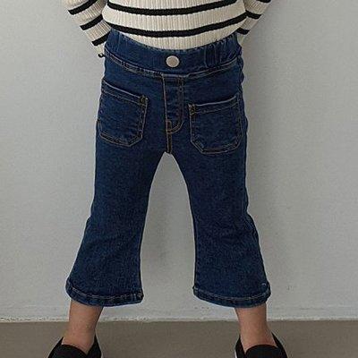 3~13 ♥褲子(深藍色) MERRY GO ROUND-2 21秋季 MGR210823-038『韓爸有衣韓國童裝』~預購