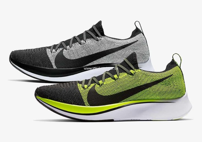 南◇2020 6月 Nike Zoom Fly FK Flyknit 編織 慢跑 黑綠色Bv6103002 灰黑色001