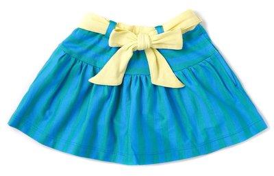 日本DADWAY Apparel女童裙子(土耳其藍+芥末黃)-80cm clearance sale
