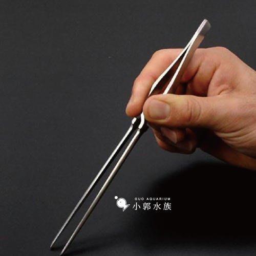 小郭水族-日本製【不鏽鋼彈簧直夾16.2cm】水草夾 直夾 輕鬆不費力 種植水草