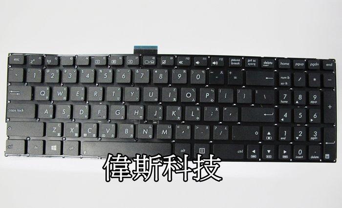 ☆偉斯科技☆ 華碩X555L R556L F555L X555L A555L K555 全新鍵盤~現貨供應中!