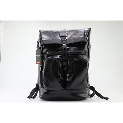*米猜Shop* TUMI (途米) 92388HK2 真皮男士大號旅行雙肩背包 可插拉桿箱 休閒商務後背包 肩背手提包