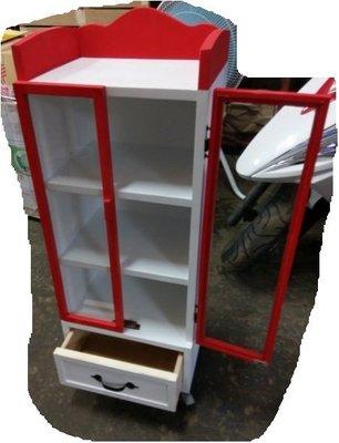 zakka糖果臘腸鄉村雜貨坊    木作類..Ma Kota 展示收納櫃/陳列櫃(會場佈置多肉植物鄉村娃娃道具櫃櫥窗)