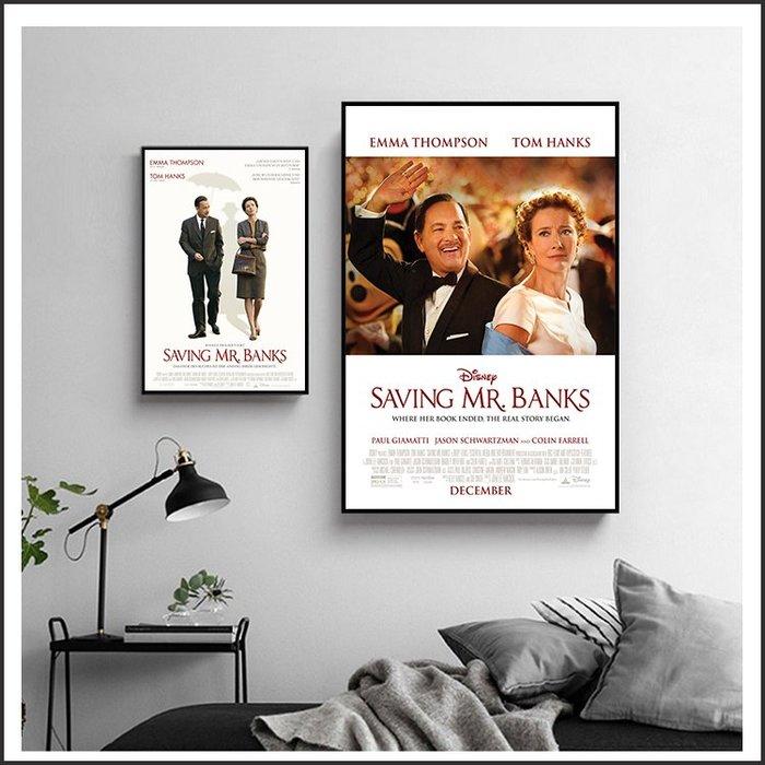 日本製畫布 電影海報 大夢想家 Saving Mr. Banks 掛畫 無框畫 @Movie PoP 賣場多款海報~
