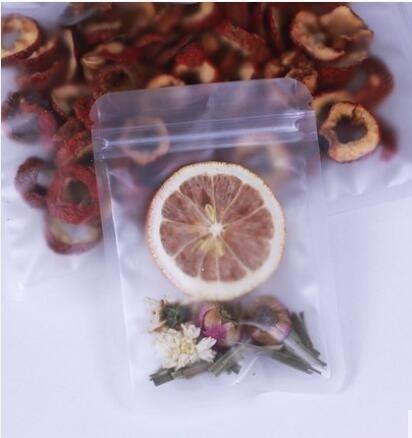 點心包裝袋 磨砂自封袋透明莢鏈食品袋子包裝袋密封口袋