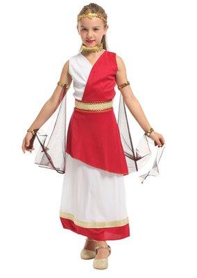 乂世界派對乂萬聖節服裝,萬聖節服飾,變裝派對,兒童變裝服 /希臘兒童服裝-雅典娜智慧小公主