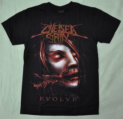 【Mr.17】Chelsea Grin EVOLVE 樂團死核金屬搖滾T-SHIRT 短袖雙面 滿千免運費(H396)