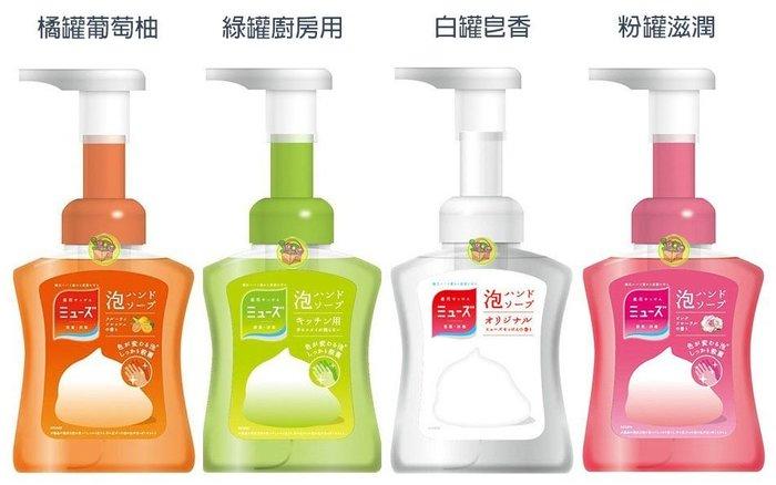 【JPGO 】日本進口 Muse 抗菌泡沫洗手乳 250ml 共四款 #057/095/149/194