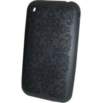 《破盤出清買一送一》Q-Max 古典雕花紋的矽膠保護套 iPhone 3G專用 (三色可選) 果凍套