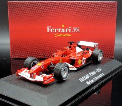 【M.A.S.H】[現貨特價]  Altas 1/43 Ferrari F2004 #1 World Champion