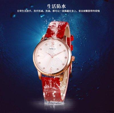 yes99buy加盟-時諾比專櫃時尚韓味休閒真皮奢華水鑽女錶