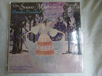 全新未拆4xLP,Baranovich指揮Rimsky-Korsakov:The Snow Maiden雪娘。稀有經典版