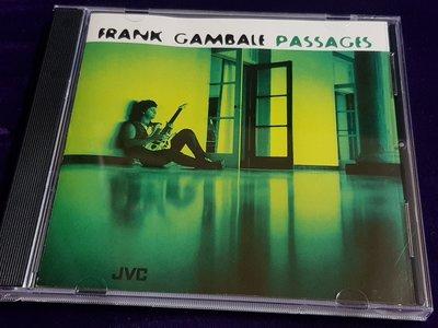 R西洋男(二手CD)FRANK GAMBALE PASSAGES~JVC