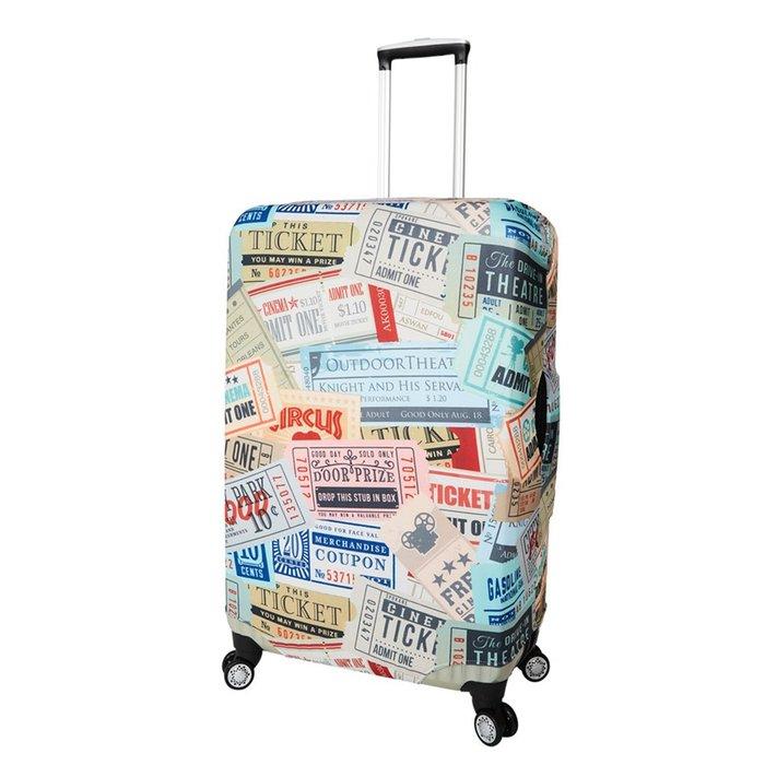 CS0452L票據 L號26-29吋日版彈力拉桿箱保護套 行李箱套