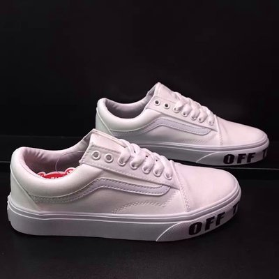 ☆LION販殼☆Vans Old Skool Platform OFF THE WALL 高 基本款 男女 小白鞋 厚底