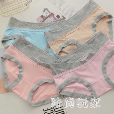 中大尺碼 孕婦內褲懷孕期不抗菌透氣低腰短褲 ZB867