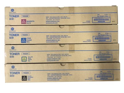 【小智】Konica Minolta TN324/TN-324 黑色碳粉 機型C258/C308/C368(含稅)