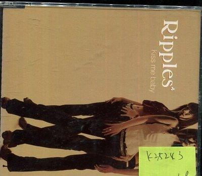 *真音樂* RIPPLES /  KISS ME BABY 二手 K28243 台北市